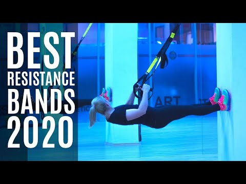 Top 10: Best Resistance Bands for 2020 / Exercise Band for Home Workout, Build Muscle, Burn Calories