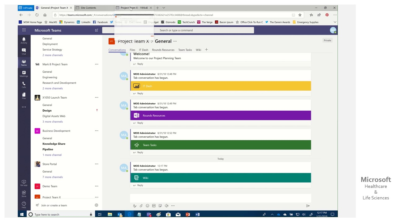 Hls Show Me How Recovering The Microsoft Teams Default