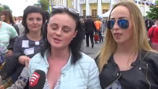 Телеканал ВІТА новини 2016-05-14 Спецрепортаж. Святкування Дня Європи у Вінниці(, 2016-05-14T19:22:25.000Z)