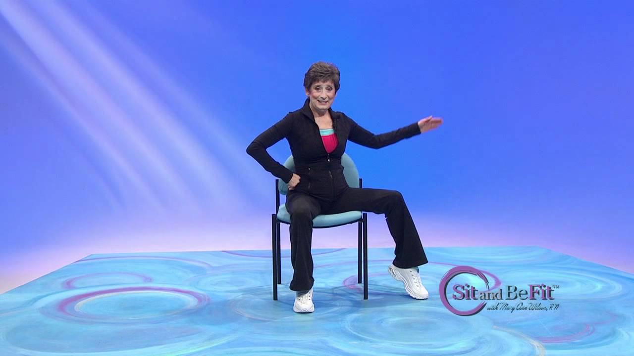 Sit and Be Fit  DVT Deep Vein Thrombosis Workout  Mary