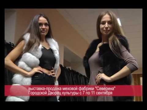 """Новость дня ( новая коллекция шуб из норки """"Северина"""" ) (РИА Биробиджан)"""