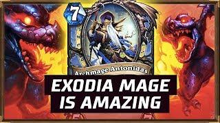 Exodia Mage Is Amazing | The Witchwood | Hearthstone