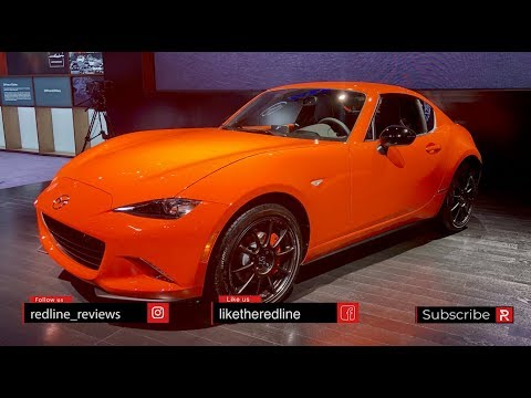 2019 Mazda MX-5 Miata 30th Anniversary – Redline: First Look – 2019 CAS