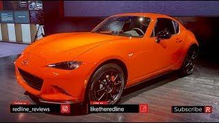 2019 Mazda MX-5 Miata 30th Anniversary – Redline: First Look – 2019 CAS