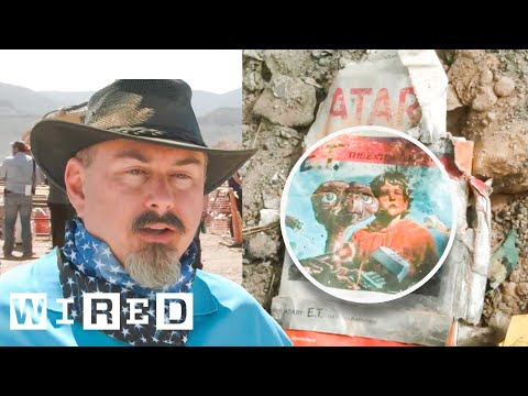 Excavating the Atari E.T. Video Game Burial Site-Game|Life-WIRED