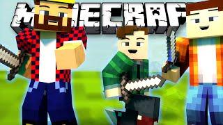 УБИВАЕМ ВРАГОВ КОМАНДОЙ - Minecraft МЕГА Скай Варс (Mini-Game)
