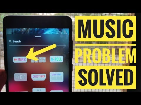 Instagram Story Music Not Available/Showing Problem Solved | How To Fix Instagram Music Features