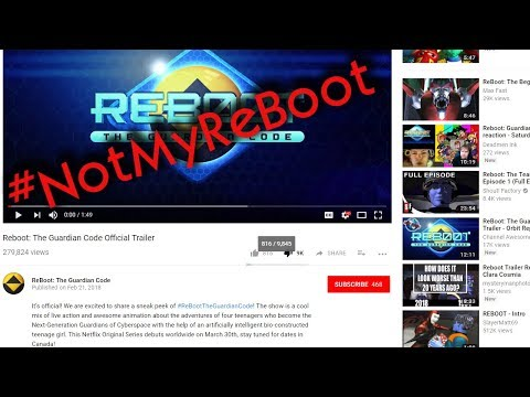 ReBoot: The Guardian Code Official Trailer...