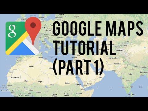 Google Maps Tutorial : Part 1  (Android Tutorials)