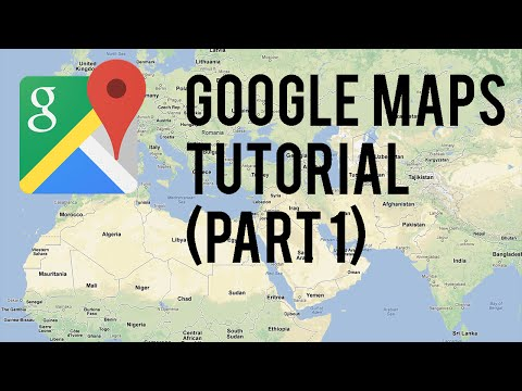 Google Maps Tutorial : Part 1