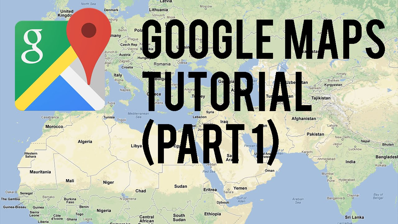 Google Maps Tutorial Part 1 Android Tutorials Youtube