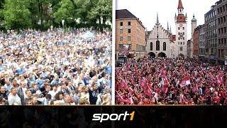 Feier-Vergleich: Löwen zeigen FC Bayern wie Party geht | SPORT1