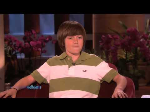 Greyson Chance on Ellen!