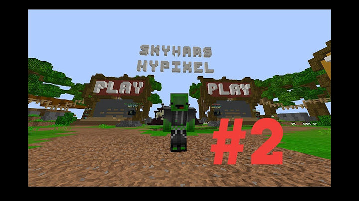 skywars 2  on troll sur hypixel