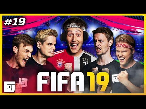 FIFA 19 met F*CKED UP COMMENTATOR JEREMY en Milan, Don, Link en Roy | LOGS3 | #19