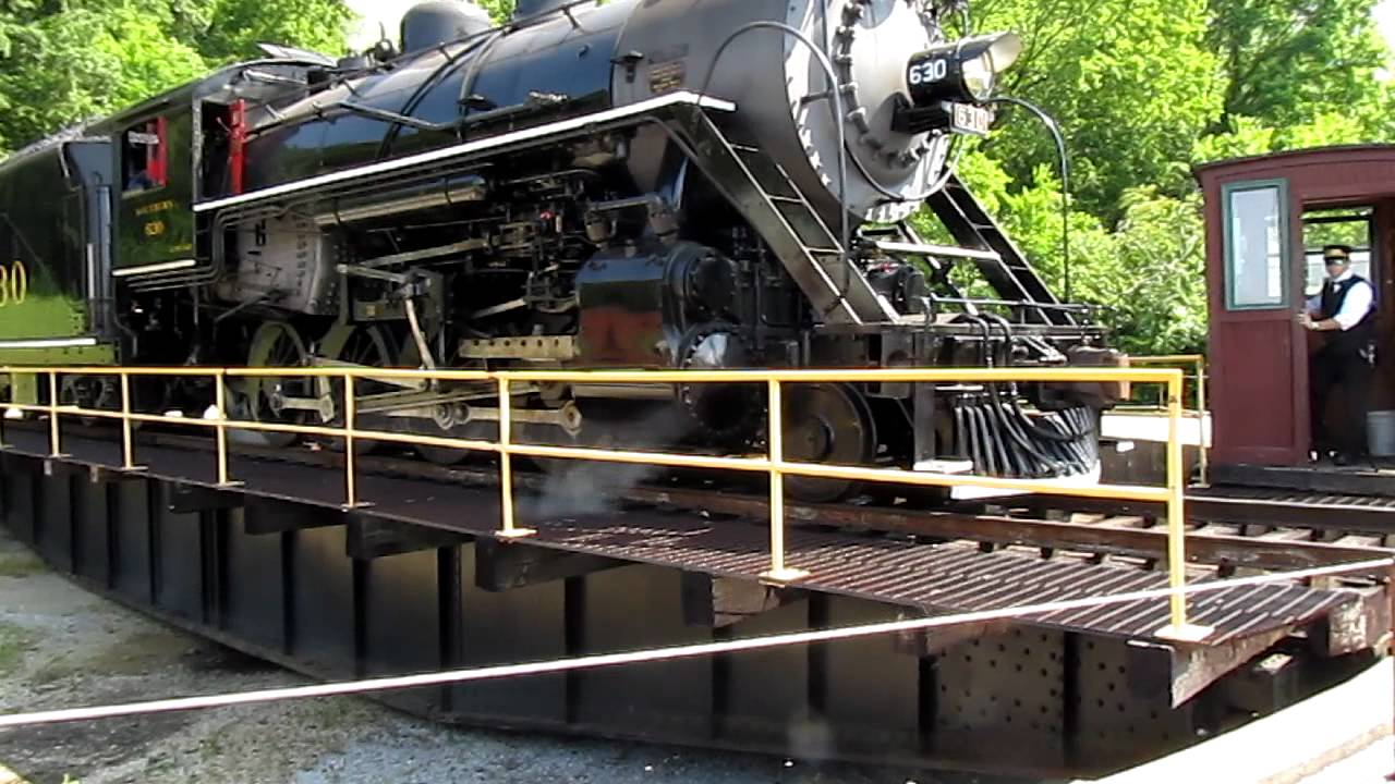 Tennessee Valley Railroad Train Turntable