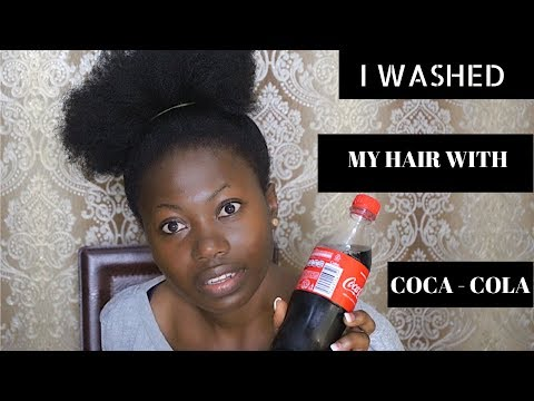 I WASHED MY HAIR WITH COCA-COLA, GUESS WHAT HAPPENED