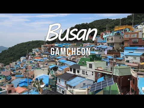 SOUTH KOREA TRAVEL GUIDE - BUSAN,    GAMCHEON CULTUR VILLAGE