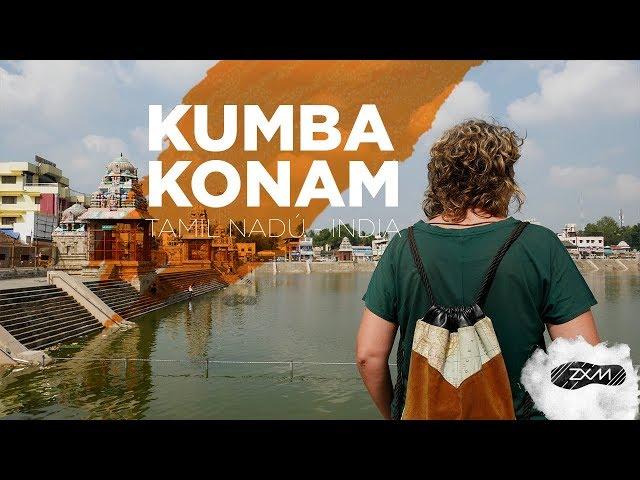 KUMBAKONAM - ruta por Kumbakonam en Tamil Nadú - India -  ZXM