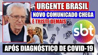 AOS 84 ANOS NOSSO QUERIDO APRESENTADOR CARLOS ALBERTO DE NÓBREGA APÓS DIAGNÓSTICO, FILHA DESABAFA...