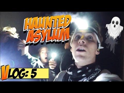 OVERNIGHT CHALLENGE: INSANE ASYLUM w/ JAKE PAUL