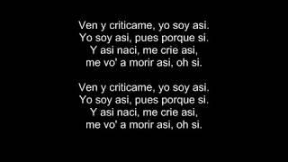 ven y criticame