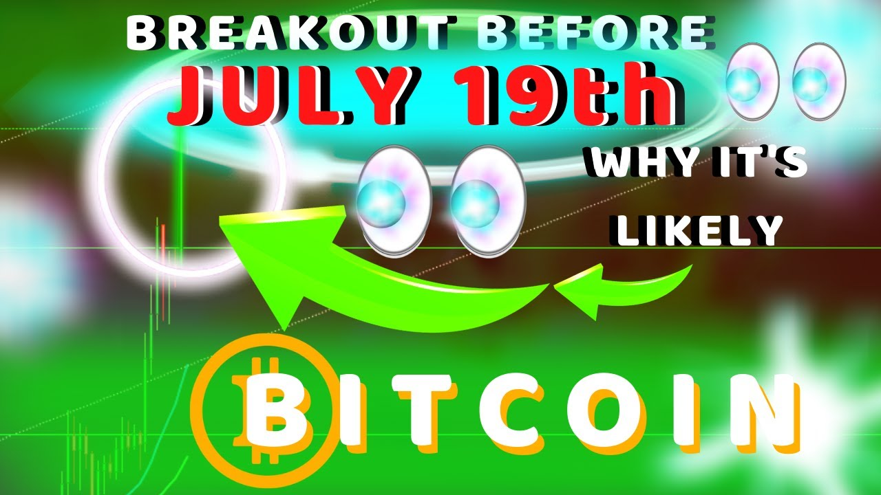 BITCOIN BREAKOUT BY JULY 19TH! HAVE YOU SEEN THIS!? WARNING: 3 ALTCOINS THAT WILL MOON IN 2020!!!