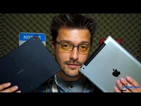 Sony Xperia Tablet Z vs Apple iPad | Pocketnow