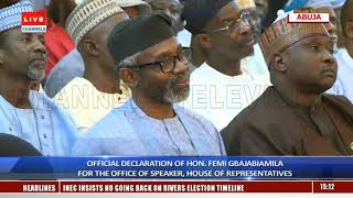 I Seek The Office Of Speaker To Mentor The Younger Generation - Gbajabiamila
