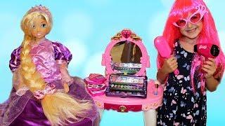 Masha Dress Up and make up for a Princess