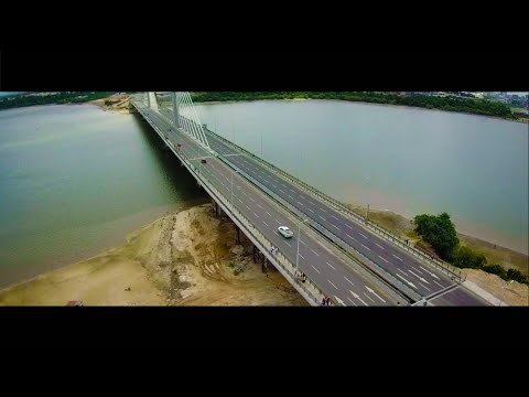 Kigamboni New Bridge In the sky