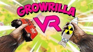 VR | СЪЕЛ ВОЕННУЮ БАЗУ ЧТОБЫ ВЫЖИТЬ - GrowRilla ВР