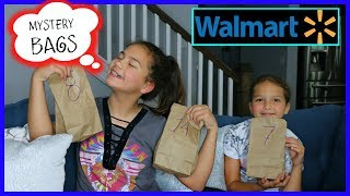 "16 MYSTERY BAGS CHALLENGE "" WALMART EDITION "" SISTER FOREVER"