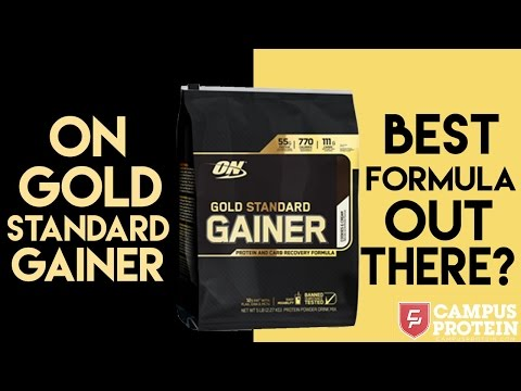 Optimum Gold Standard Gainer Product Review