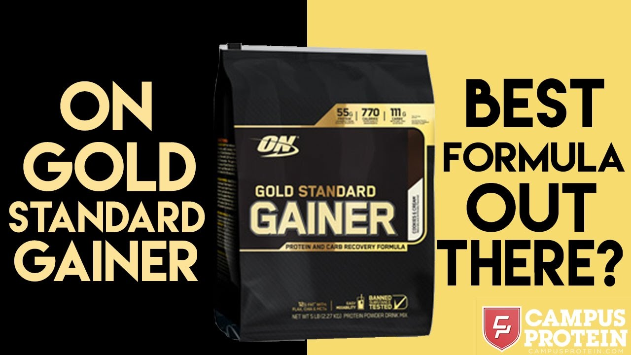 on pro gainer gold standard