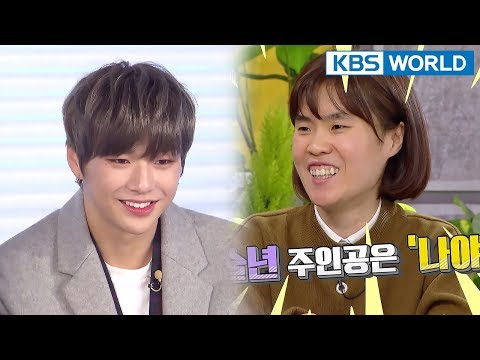 """Park Jiseon, """"I will become Song EunI's Kang Daniel."""" [Happy Together/2018.02.15]"""