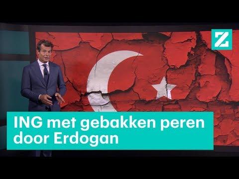 ING met gebakken peren door Erdogan - RTL Z NIEUWS