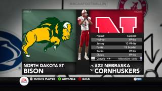 NCAA Football 14 Uniform Pack #1 Release Viewing