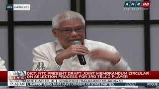 WATCH: DICT, NTC consult with stakeholders on third telco player (Part 2)