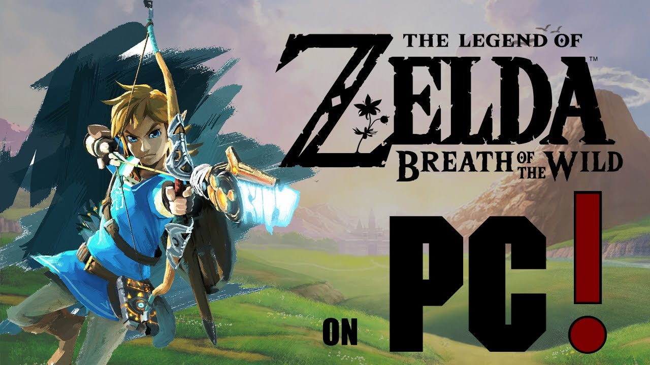 play breath of the wild on pc 2019