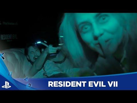 Los MEJORES SUSTOS con Resident Evil VII en PSVR