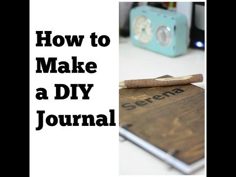 How to Make a DIY Journal: DIY Gift Ideas - Thrift Diving
