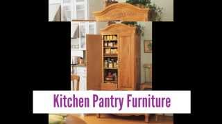 Kitchen Pantry Furniture Designs