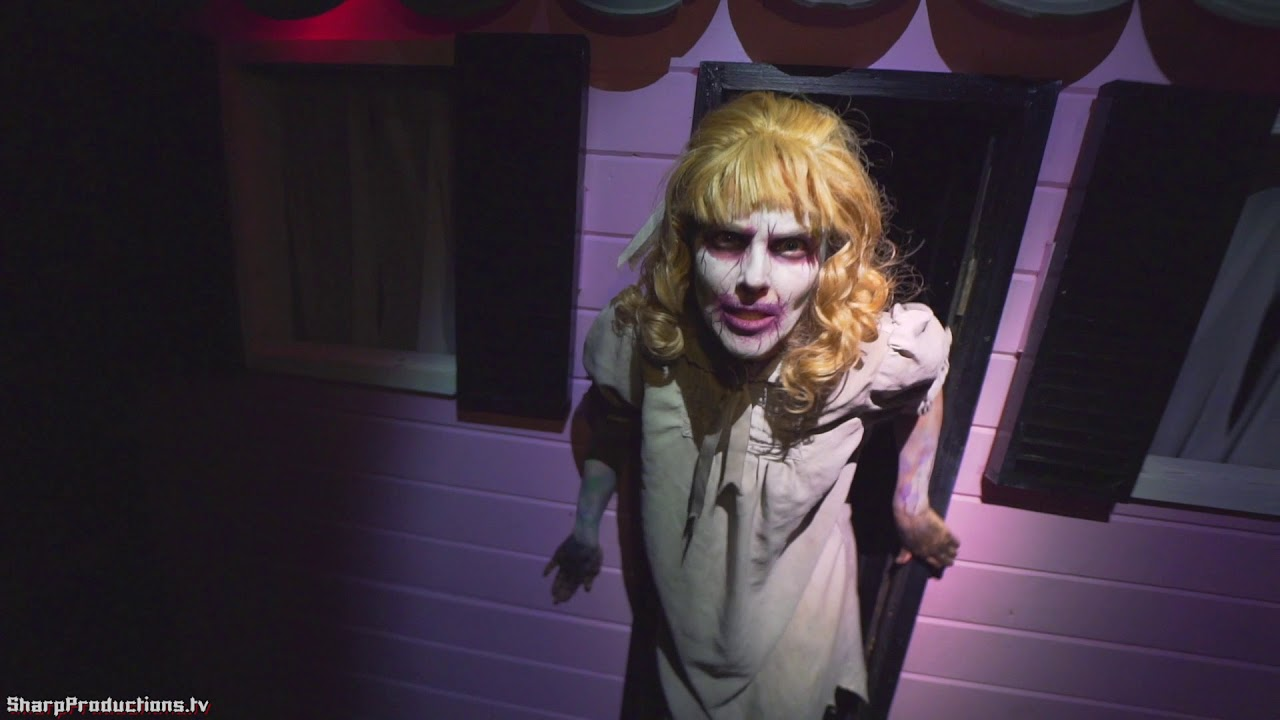 Lullaby Hush Hush Don't Cry Maze at Queen Mary's Dark Harbor