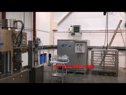IC Filling Systems - Complete Semi Automatic Carbonated Soft Drinks Preparation & Bottling Line.