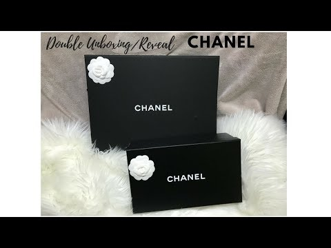 Chanel Double Unboxing/Reveal 2017!!!!!