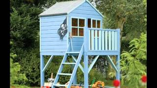 Wooden Playhouses For Children