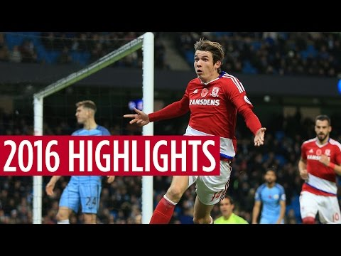 Middlesbrough's top moments of 2016