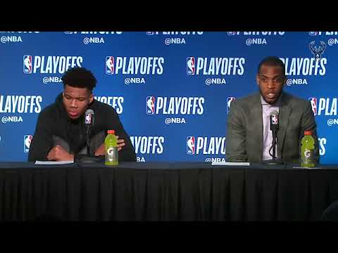 Giannis Antetokounmpo & Khris Middleton Postgame Interview | Celtics vs Bucks Game 4