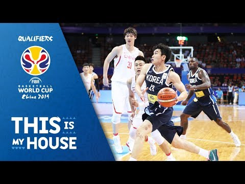 China V Korea - Full Game - 3rd Window - FIBA Basketball World Cup 2019 - Asian Qualifiers